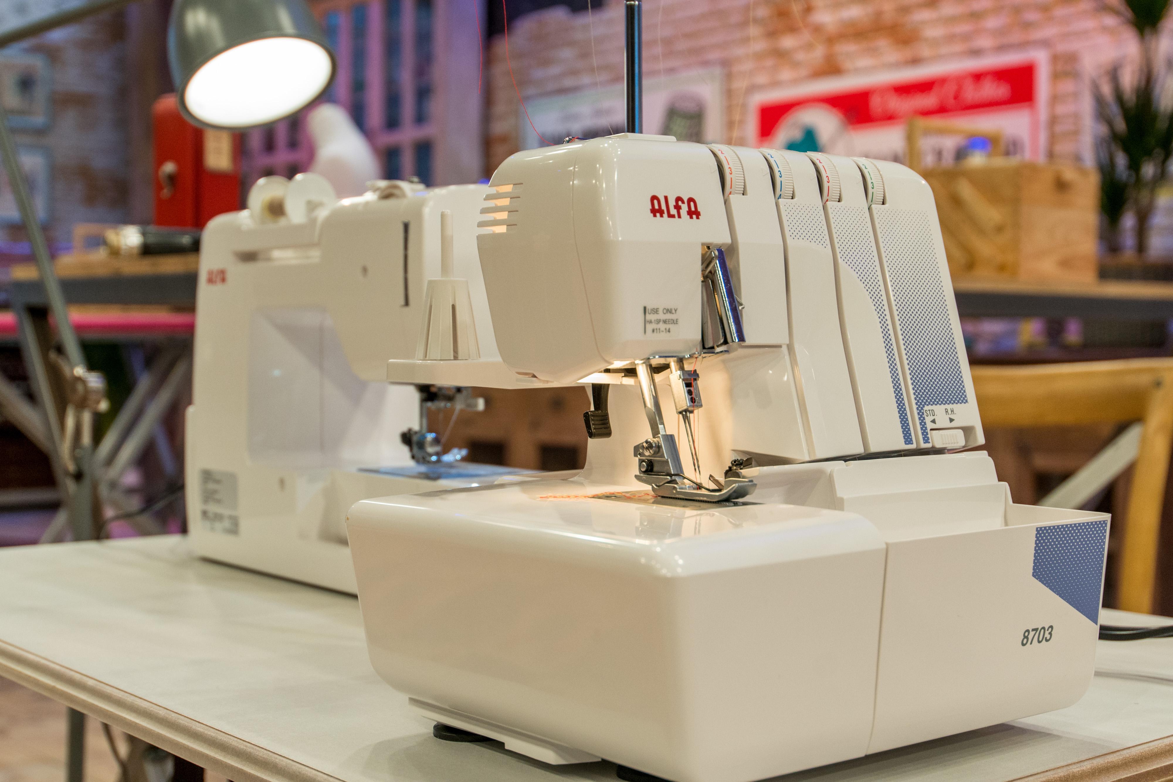 La máquina de coser Alfa 2190 en el programa Maestros de