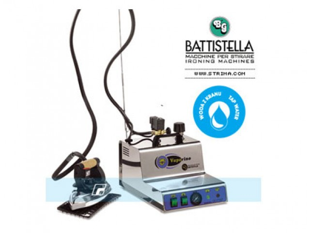 Maxi vapor Battistella acero inoxidable
