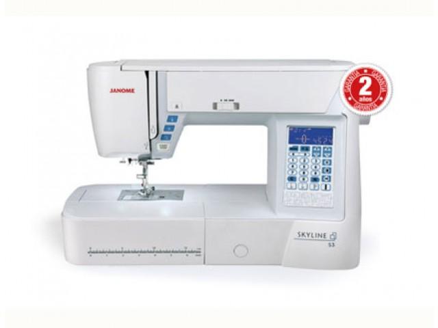 Máquina de coser Janome Skyline S3