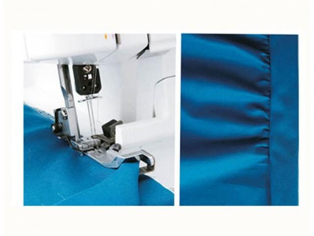 Prensatelas para costura de dos capas en overlock