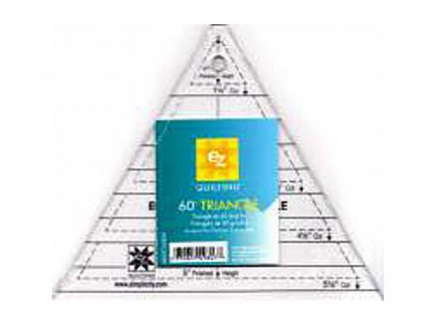 Regla Acrílica Triángulo 60º
