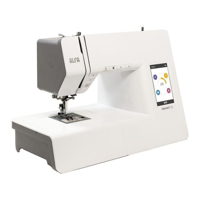 Maquina de coser alfa smart plus
