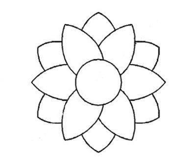 Plantilla Acetato Flor Doble