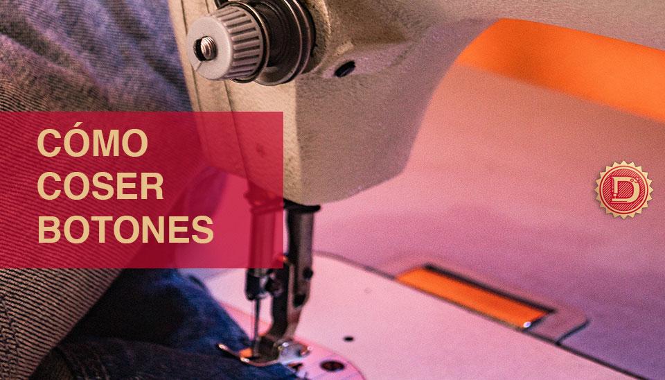tutorial coser botón a máquina