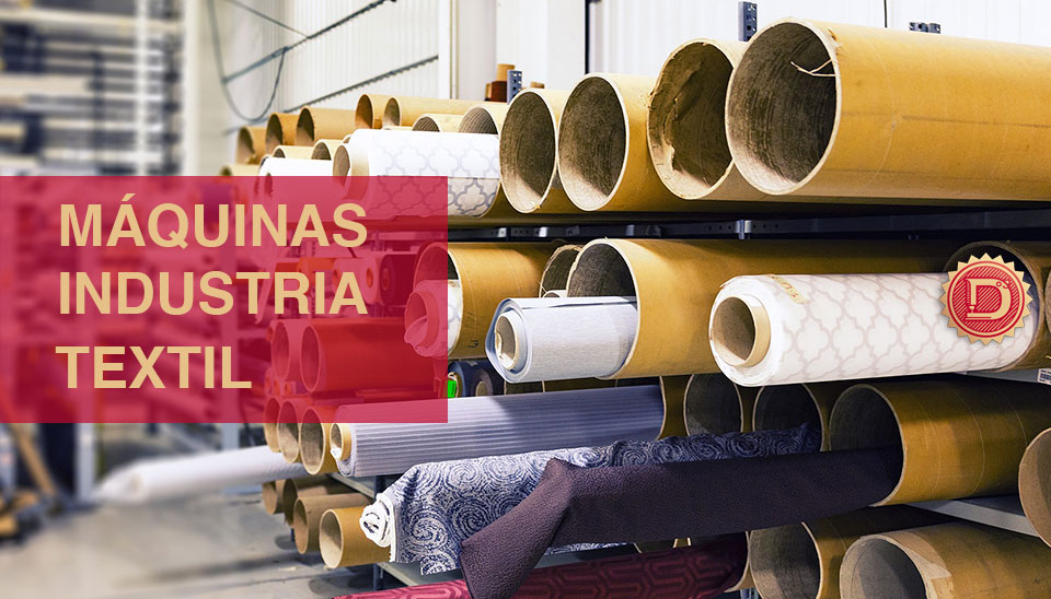máquina textil industrial