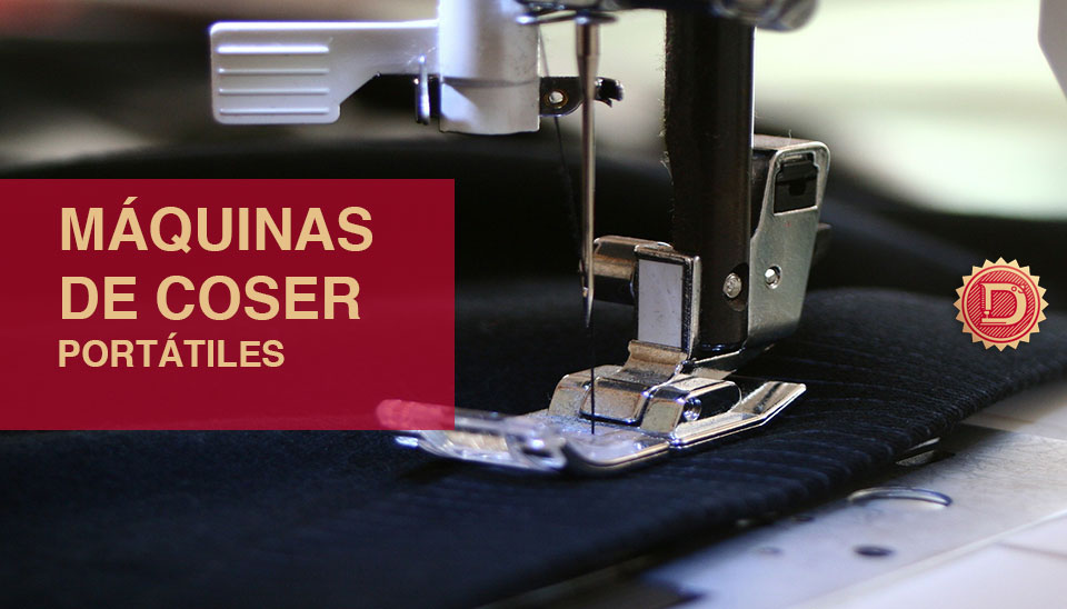 Máquina coser de viaje