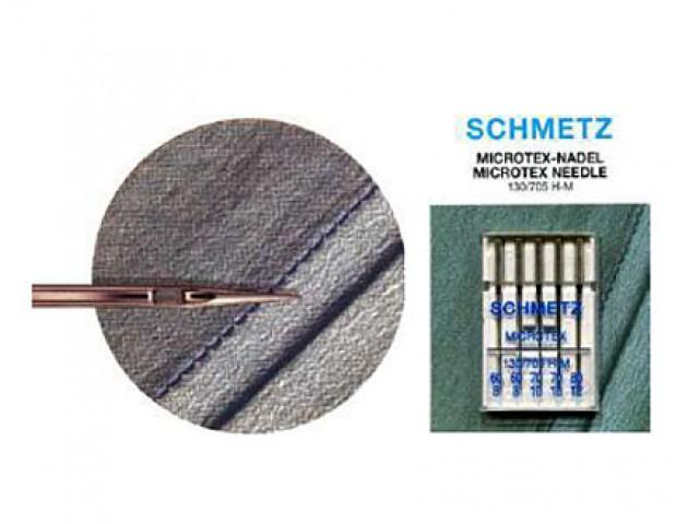 Agujas Schmezt Microtex 130/705 H-M