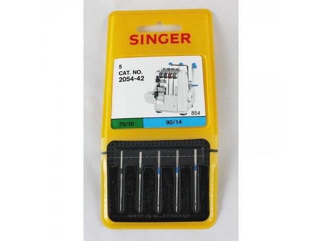 Agujas Singer 2054-42 70/10 90/14  Para remalladora