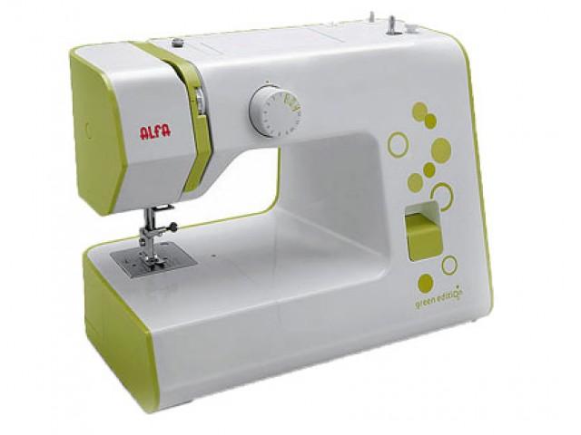 Maquina de coser Alfa Green Edition