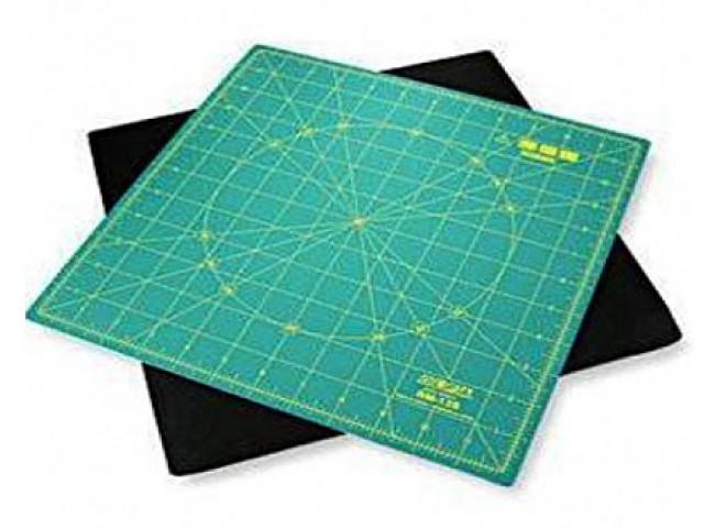 Base de Corte Rotativa 30 x 30 cm. para Patchwork