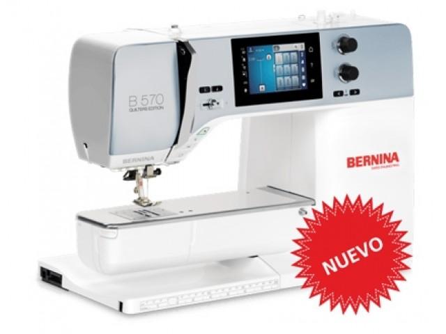Máquina de coser, bordar y acolchar Bernina 570QE con módulo de bordado