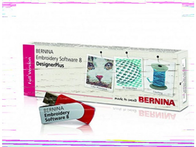 PROGRAMA BERNINA DESIGNER EMBROIDERY PLUS V8.0