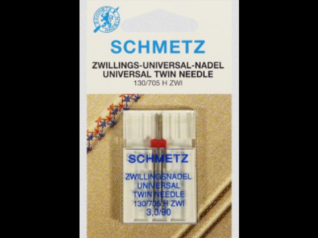 Aguja Schmetz Universal Twin 130/ 705 H ZWI