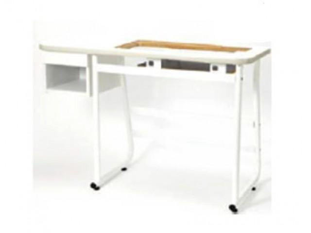 Mesa de madera para m quinas de coser elna for Mesa para maquina de coser