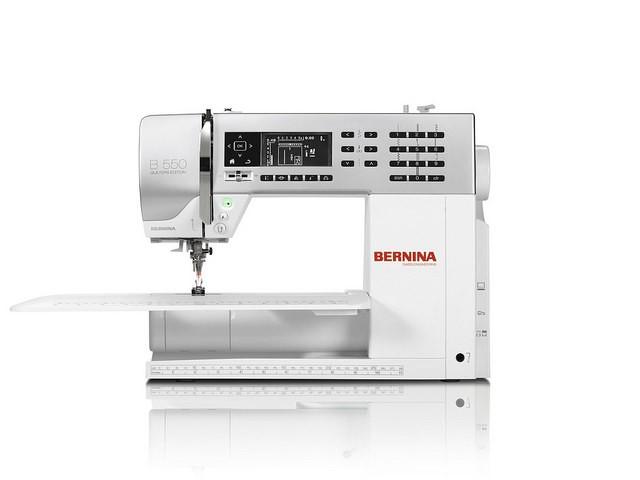 Maquina de Coser Bernina 550 QE