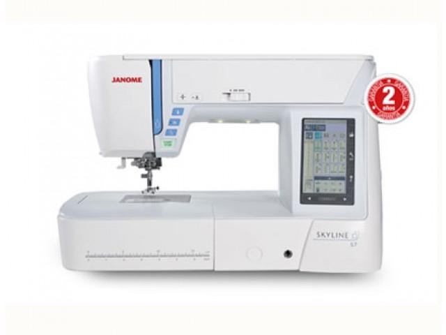Máquina de coser Janome Skyline S7 580 puntadas