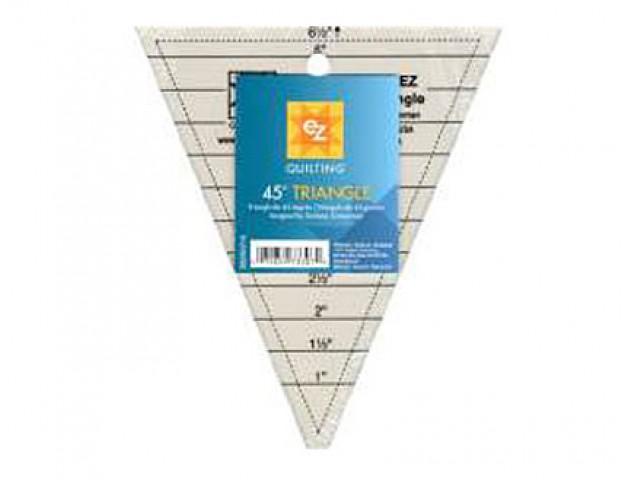 Regla Acrílica Triángulo 45º