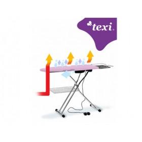 Mesa de Planchado con plato caliente-Aspirante soplante texi
