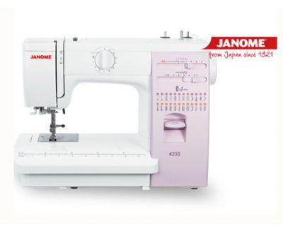 Máquina de coser Janome 423S.