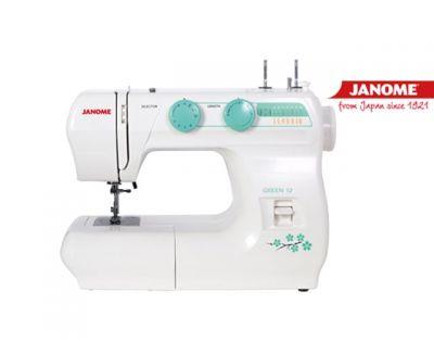 Máquina de coser Janome Green 12