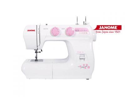 Máquina de coser Janome Pink 12