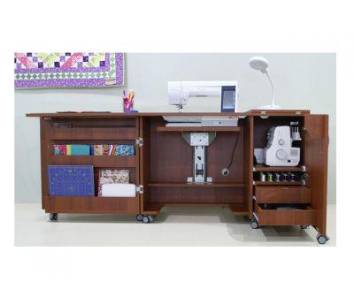 Mueble para máquina y Overlock de coser Modelo F0040