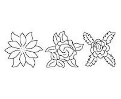 Plantilla Flores