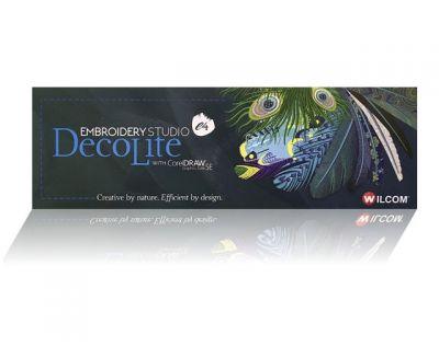Programa de bordado Welcome Decolite e4 with corelDraw
