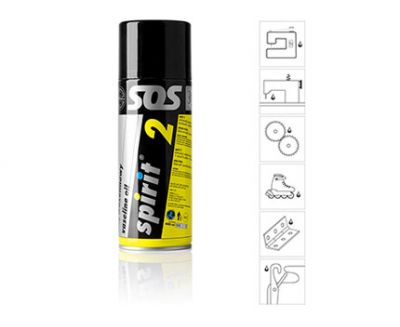 SPIRIT 2 - SPRAY 400 ML DE ACEITE DE VASELINA