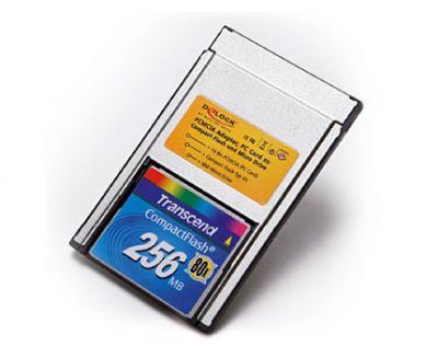 Tarjeta Compact Flash con Adaptador