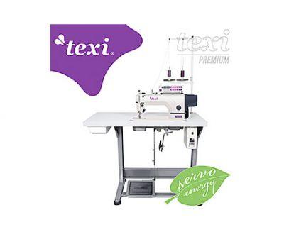 Maquina de Coser Industrial pespunte con cortahilos Texi Silence Matic Premium