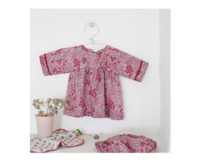 Selecto vestido de bébé Jeanne 3-18 meses.