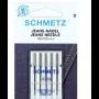 Agujas Schmetz  Jeans  130/ 75 H-J 100/16