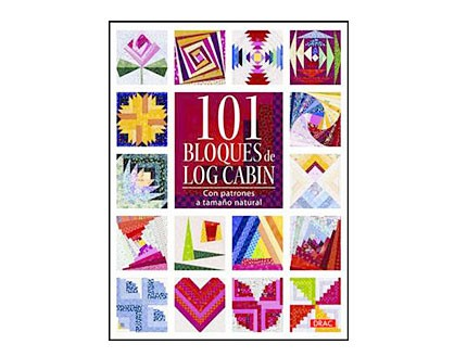 101 Bloques Log Cabin