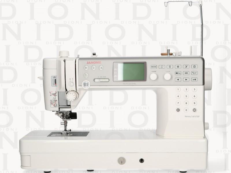 Maquina de Coser Janome Memory Craft 6700p