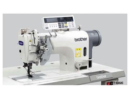 Máquina de dos agujas puntada recta y desembragable. Brother T-8452C