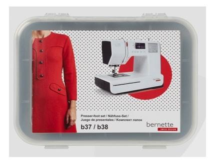 Juego de prensatelas  b37/ b38 Bernette