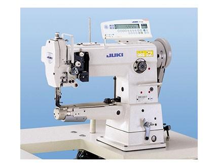 Máquina industrial de triple arrastre cilíndrica. Juki DSC 245-U