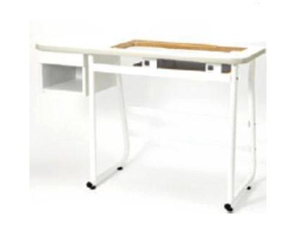 Mesa de madera para máquinas de coser Elna