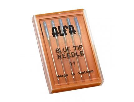 Estuche 5 Agujas Alfa Talón Azul