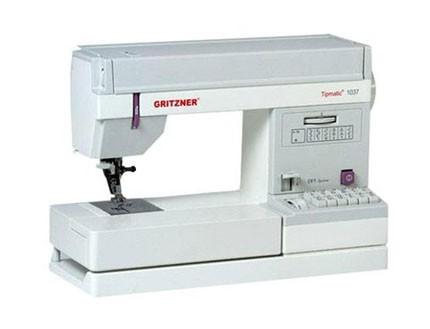 Máquina de Coser Gritzner 1037 y Gritzner Overlock 788