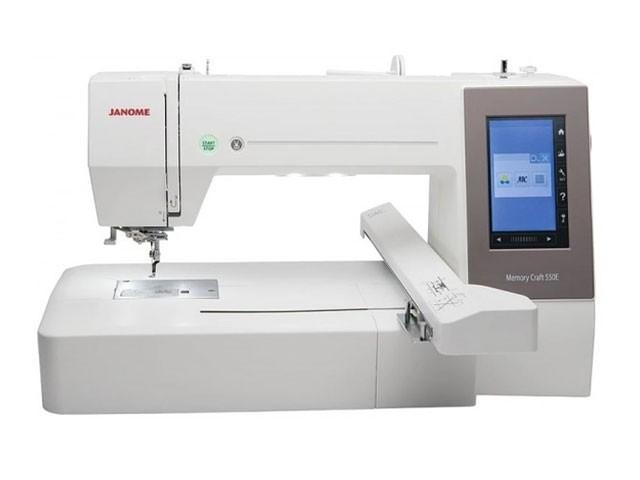 Maquina de bordar Janome MC550E