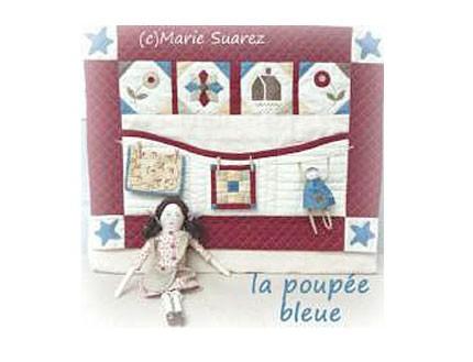 Kit de Costura Muñeca Azul
