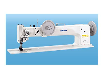 Máquina industrial de triple arrastre de brazo largo. Juki LG 158-1U