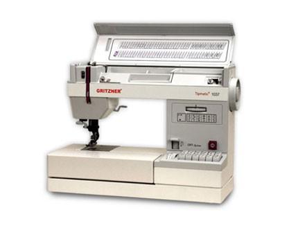 Máquina de coser doble arrastre Gritzner 1037