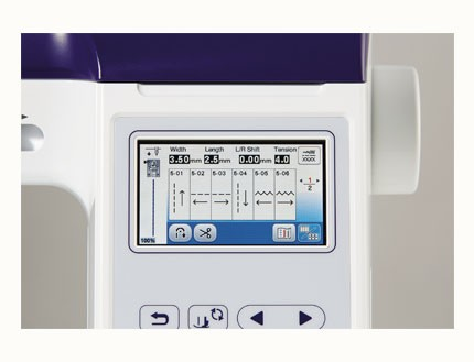 Máquinas de coser y bordar INNOVIS F480