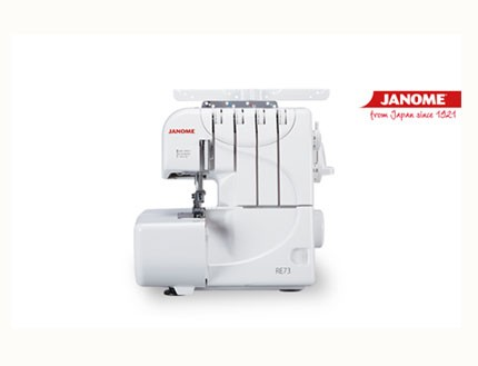 Máquina overlock Janome RE73