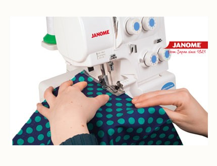 Remalladora overlock 8002D Janome