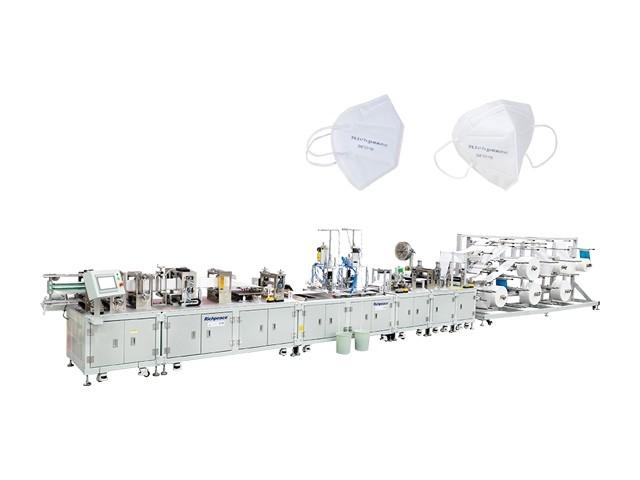 Unidad automática para la fabricación de mascarillas PLEGADA FFP2 / FFP3