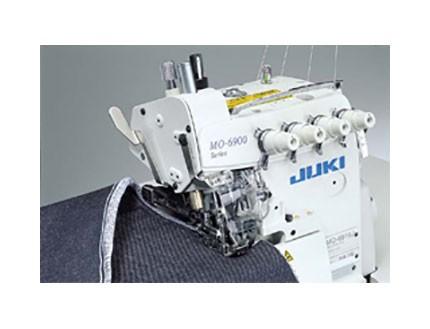 Máquina industrial overloock de cinco hilos para géneros gruesos Juki MO-6916G